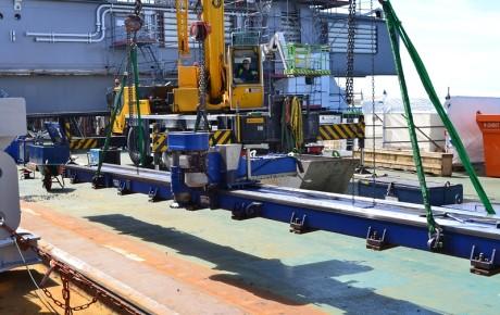 ProTectS Engineering heeft gedurende een aantal jaar de acquisitie voor Gebr. Van Leeuwen verzorgd, een specialist op het gebied van on-site machining.